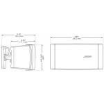 Bose® FreeSpace® DS 16S garso kolonėlė