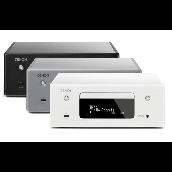 Denon RCD-N10 Hi-Fi All-in-One stiprintuvas/imtuvas ir CD grotuvas