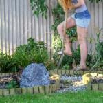 LitheAudio All-in-one Bluetooth Outdoor Garden Rock Speaker